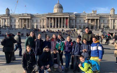 Učenci III. OŠ Celje na ekskurziji v Veliki Britaniji
