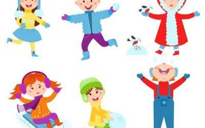 Zimski športni dan na daljavo v 4. b
