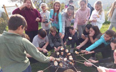 Šestošolci obiskali Razgorškovo kmetijo