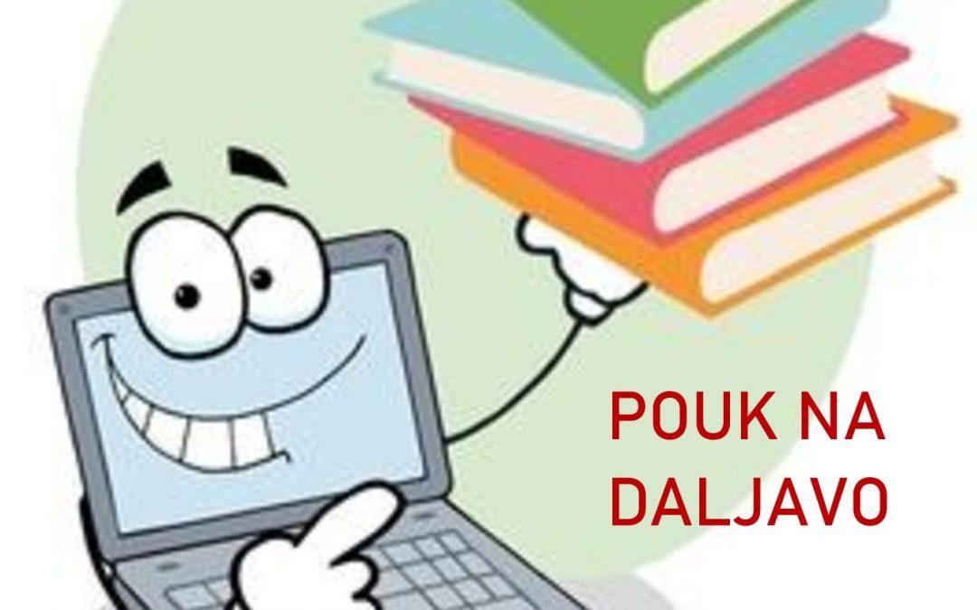 Obvestilo staršem glede drugačne organizacije pouka (15. 10. 2020)