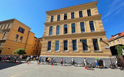Uspešno opravljen kolesarski izpit za petošolce