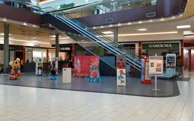 Razstava projekta Evropska vas v trgovskem središču City Center